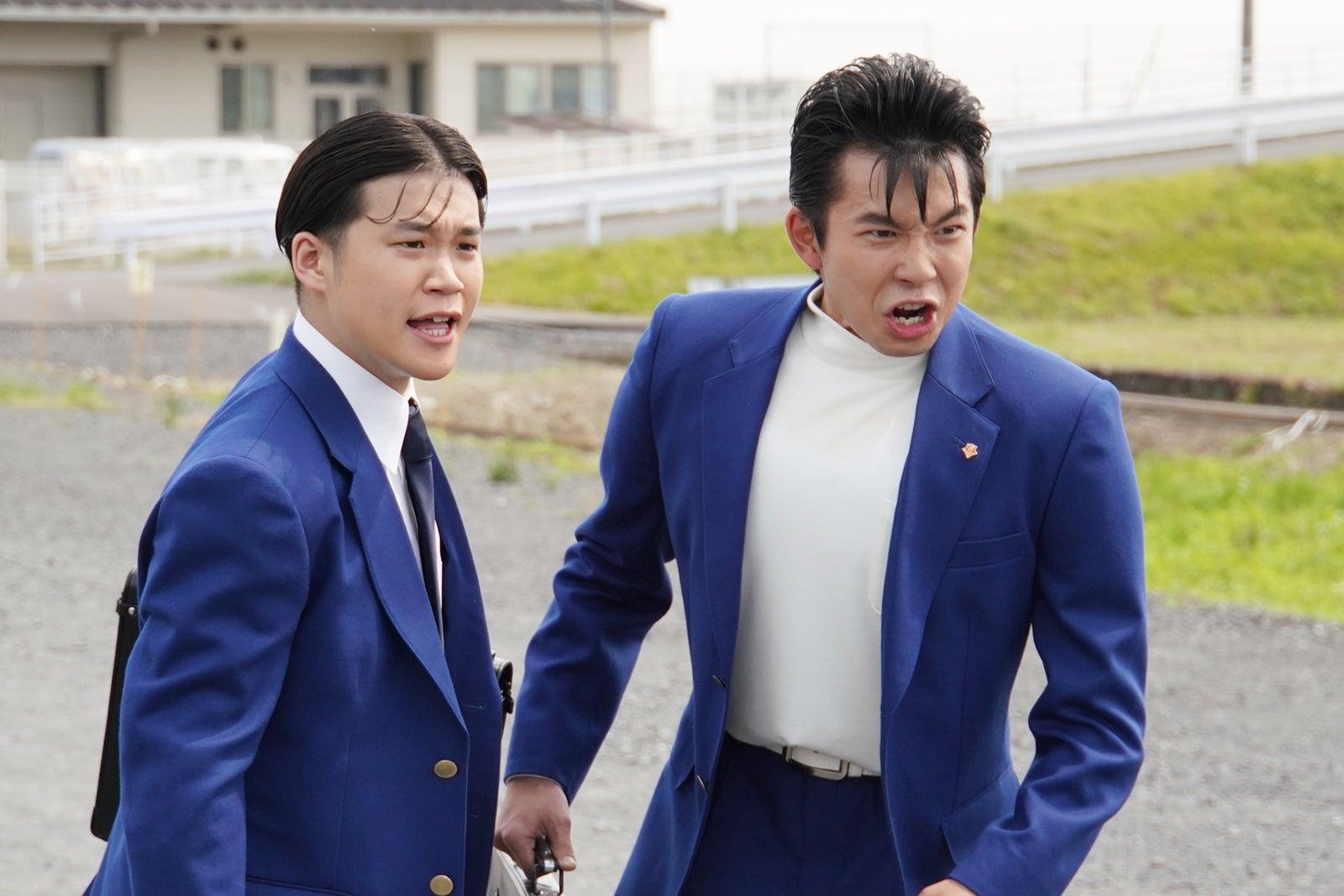 矢本悠馬、太賀/『今日から俺は!!』第一