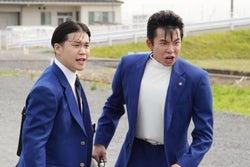 矢本悠馬、太賀/『今日から俺は!!』第一話より(C)NTV