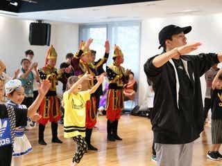 EXILE世界、モンゴルの子どもたちと「Choo Choo TRAIN」 ダンスで交流図る