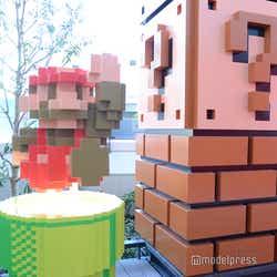 Nintendo TOKYOと同フロアにあるオブジェ(C)モデルプレス