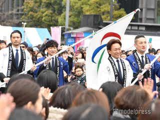 TOKIO、4人でイベント登場に歓声 城島茂「まさか今、こんな場所で」