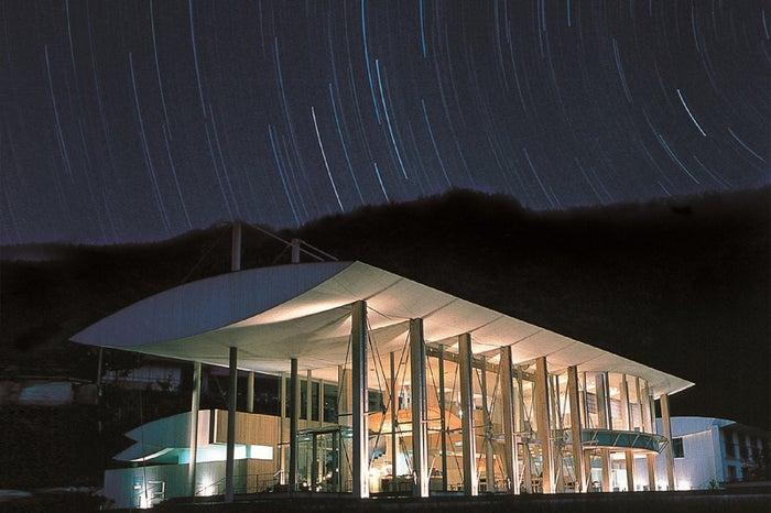 星が降り注ぎそう!高知「雲の上のホテル」で温泉&星空に癒やされたい/画像提供:高知県