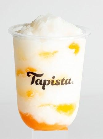とろとろ果肉の白桃ソルベ Mサイズのみ¥550/画像提供:Tapista