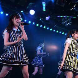 指原莉乃、松岡はな/AKB48劇場で行われたHKT48 チームH「RESET」公演(C)AKS