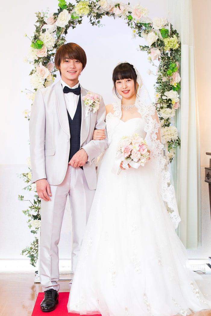 野村周平&桜井日奈子(C)テレビ朝日