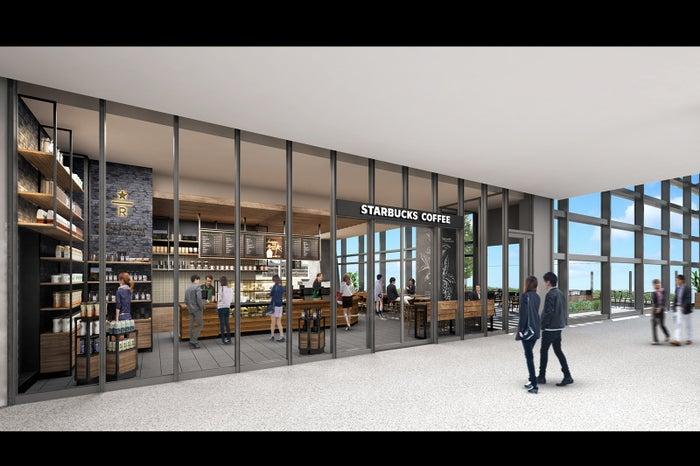 スターバックス コーヒー 名古屋JRゲートタワー店 外観/画像提供:スターバックス コーヒー ジャパン