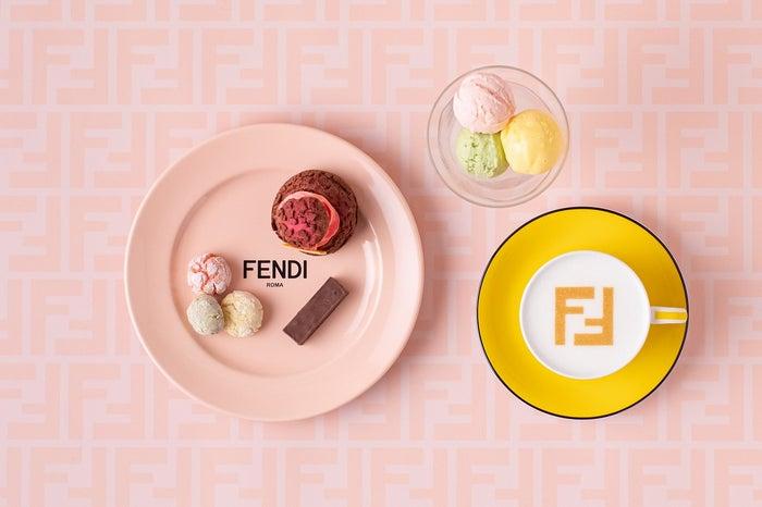 ケーキセット 2,800円/画像提供:フェンディ ジャパン