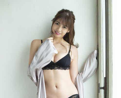 「TikTok」で人気の得能あゆみ、美バストくっきりなグラビアデビュー