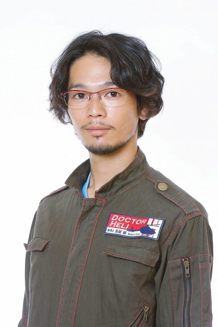 鳥居誠役の岩井拳士朗(C)フジテレビ