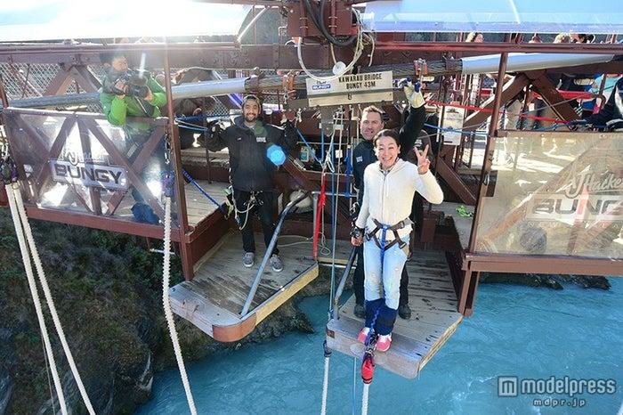 人生初のバンジー・ジャンプに挑戦