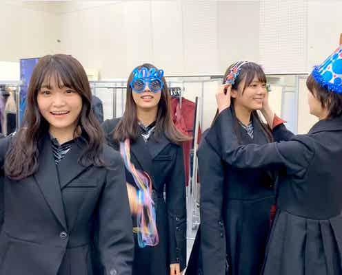 欅坂46、年明け後のメンバー写真公開 平手友梨奈・渡辺梨加らがはしゃぐ