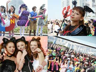 ももクロ、西内まりや、超特急ら豪華ハロウイーン仮装で集結 お台場で大パレード開催<T-SPOOK 写真特集>