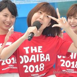 山崎夕貴らアナウンサー陣に無茶ぶり飛ぶ フジ夏イベント「ワンガン夏祭り」開幕