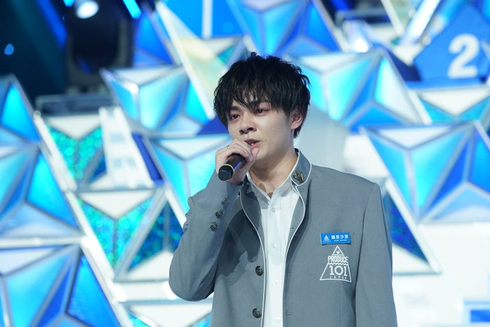 鶴房汐恩「PRODUCE 101 JAPAN」最終回(C)LAPONE ENTERTAINMENT
