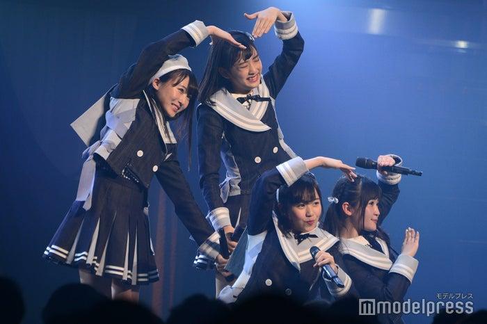 坂口渚沙、歌田初夏、平野ひかる、佐藤妃星「AKB48 チーム4単独コンサート~友達ができた~」 (C)モデルプレス