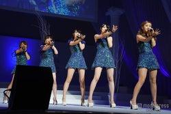℃-ute、SEXYダンス披露 圧巻パフォーマンスに観客釘付け<セットリスト>