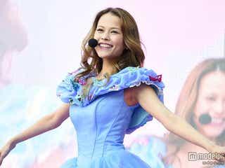 """""""スマホの歌姫""""Miracle Vell Magic、華やかなシンデレラ仮装で日本最大級ハロウイーンに参戦"""