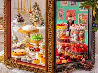 ヒルトン東京「クリスマス マジカル・ウィンドー」遊び心溢れる30種のスイーツ