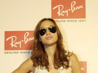 人気モデル、「Ray-Ban」パーティーに続々来場