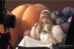 メイキング画像/新TVCM「とろける濃厚フルーツ」篇