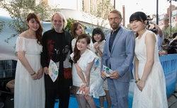 Little Glee Monster、ABBAも絶賛の歌声披露 ドレスでロンドン降臨<マンマ・ミーア! ヒア・ウィー・ゴー>