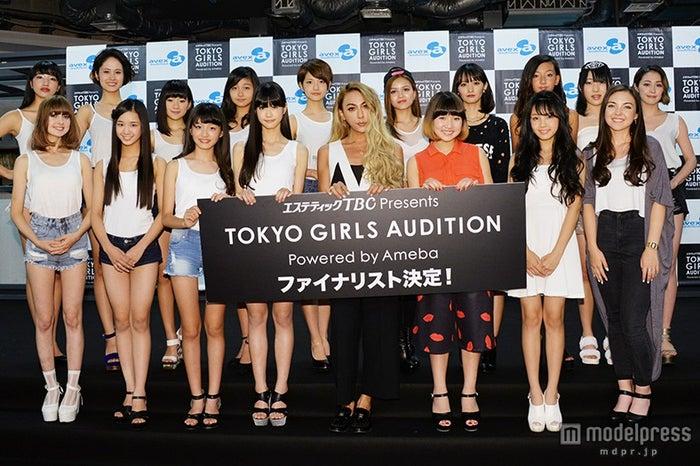 「TOKYO GIRLS AUDITION 2015」ファイナリスト&GENKING/写真は8月25日に行われたドラフト会議(第4次審査)より