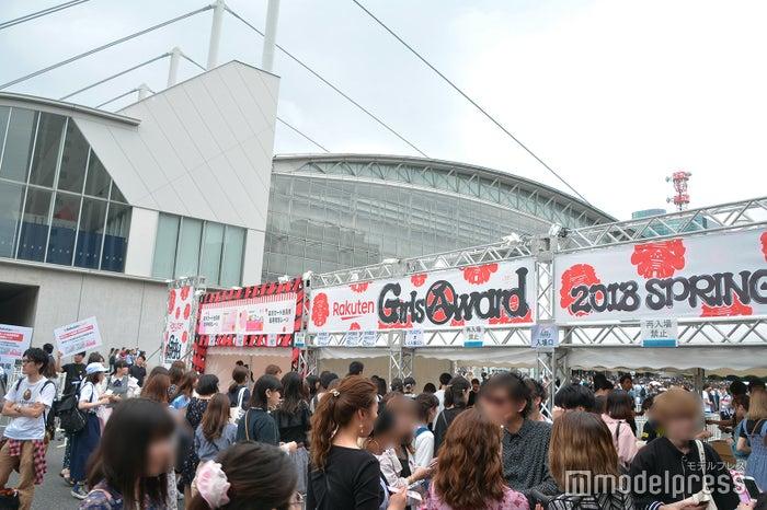 「GirlsAward 2018 SPRING/SUMMER」外観(C)モデルプレス