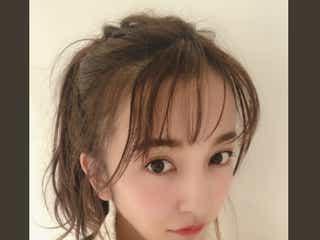 板野友美、1年ぶり前髪復活「可愛い」「真似したい」と反響