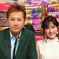 中居正広、渡辺麻友(C)TBS