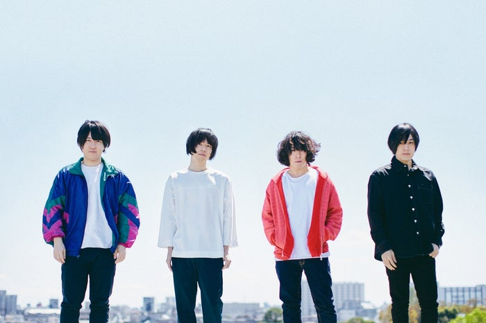 KANA-BOON/左から:小泉貴裕、飯田祐馬、谷口鮪、古賀隼斗(提供写真)