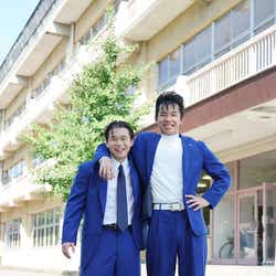 モデルプレス - 「今日から俺は!!」太賀&矢本悠馬、ビジュアル公開 気合の髪型で完全再現