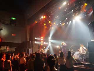 藤田富率いる4人組バンド「SHOW-C」、日本デビューライブで沸かす「本当に不安がありました」<コメント到着>