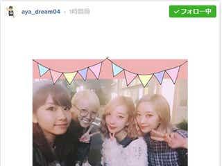 """E-girls・Aya&Amiと双子モデルユニットAMIAYAの""""Wアヤアミ""""ショットが実現"""
