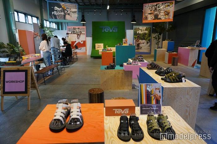 「Teva」2020 SPRING & SUMMERローンチイベント会場風景(C)モデルプレス