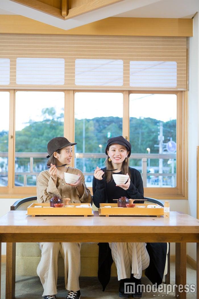 あそらの茶屋/モデル:石田一帆、ゆきら(C)モデルプレス