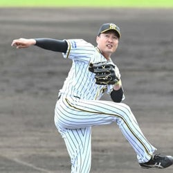 阪神・秋山 頼もしい3回0封 抜群の制球力に磨きを掛けシーズンへ