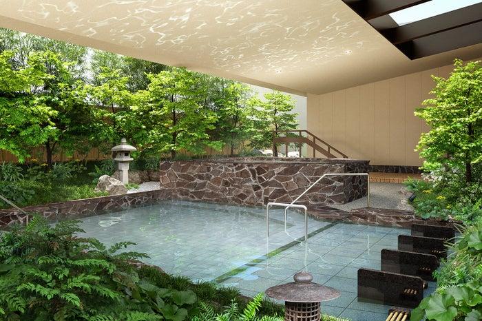 露天風呂/画像提供:大阪ベイタワー合同会社