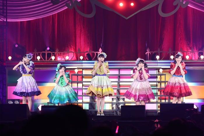 横浜アリーナで行われたライブ「ももクロくらぶxoxo~バレンタインDE NIGHT だぁ~Z!2017〈バレンタイン・裏〉」(提供写真)