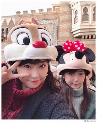 NMB48白間美瑠、加藤夕夏とディズニーデート満喫「一緒に行きたい」「可愛すぎ」の声