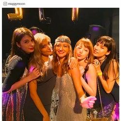 エリーローズ、誕生日パーティーが超豪華「結婚式並み」「3回お色直し」 ローラ、マギーらも集結