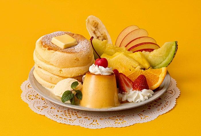 奇跡のパンケーキ プリンアラモード/画像提供:フレーバーワークス