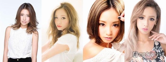「Fast Fashion Expo」に出演する(左から)ラブリ、宮城舞、武田静加、矢野安奈