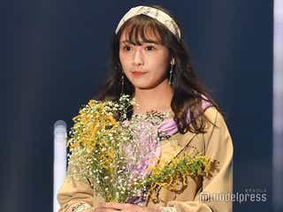 欅坂46渡辺梨加、可憐な美貌際立つランウェイ<TGC2020 S/S>