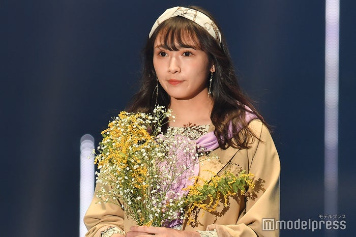 「第30回 マイナビ 東京ガールズコレクション 2020 SPRING/SUMMER」に出演した渡辺梨加 (C)モデルプレス