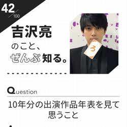 「100文字のおことば」from吉沢亮【42】