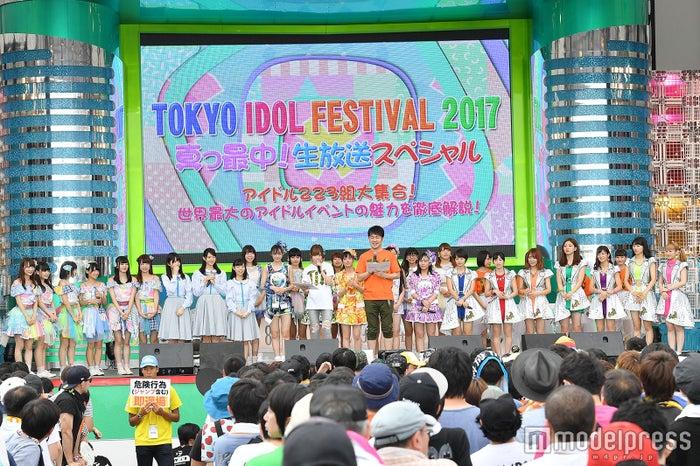 「TOKYO IDOL FESTIVAL」2日目の様子 (C)モデルプレス