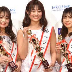 森下花音さん、西脇萌さん、松本楓加さん(C)モデルプレス