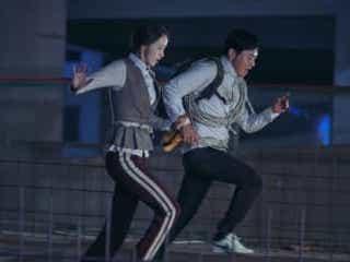 少女時代ユナ、絶体絶命!ロープでビルの間渡る衝撃シーン映像
