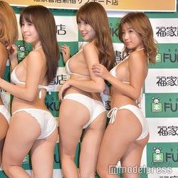(左から)犬童美乃梨、森咲智美、葉月あや(C)モデルプレス