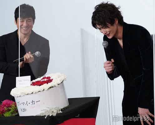 岡田将生、バースデーサプライズに気づかず驚き 西島秀俊が絶賛「岡田君の演技は突出してすごい」<ドライブ・マイ・カー>